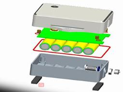 Sensor Battery Box,Customized design of arbitrary structure