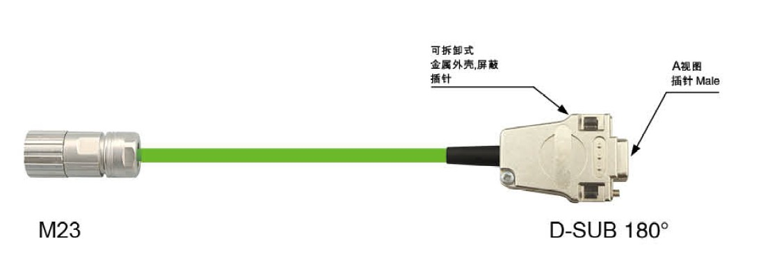 M23 cable assembly